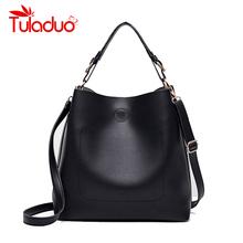 Buy 2017 New Fashion Women Shoulder Bag Ladies Handbag PU Leather Brand Design Luxury Female Large Capacity Handbag Casual Tote bags for $20.92 in AliExpress store