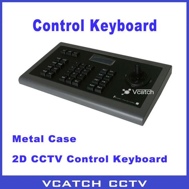 Vcatch 2D Rocker Security System Control Keyboard RS485 PTZ CCTV Controller