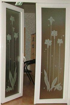 aluminium hinged door