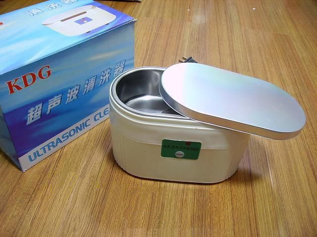free shipping 9030 mini Ultrasonic cleaner for Jewellery glasses electronic component Dental Watch Coin cleaning(China (Mainland))