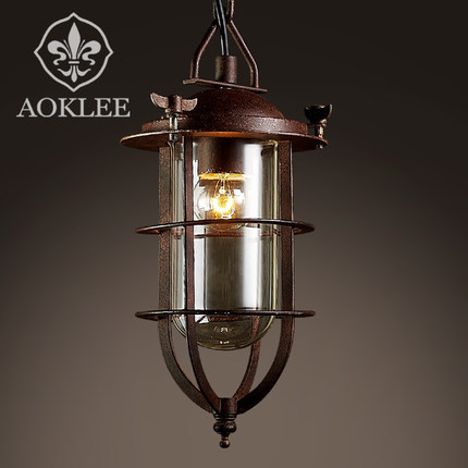 american country lighting vintage pendant light loft edison light fixtures industrial style cage. Black Bedroom Furniture Sets. Home Design Ideas