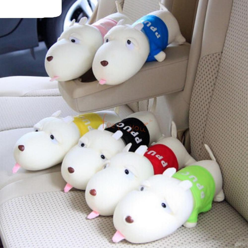 Bamboo Charcoal Lovely WAWA Dog Toy Car Home Odor Refresh Purify Air Freshener(China (Mainland))