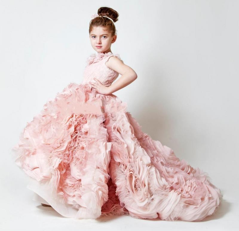 High Quality Flower Girl Dress with Train Promotion-Shop for High ...