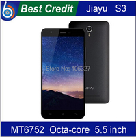 """2 gift JIAYU S3 FDD LTE 4G phone MT6752 Octa Core 1.7Ghz 3G RAM 5.5"""" 1920*1080 Gorilla Glass Mobile phone Android cell phone/Eva"""