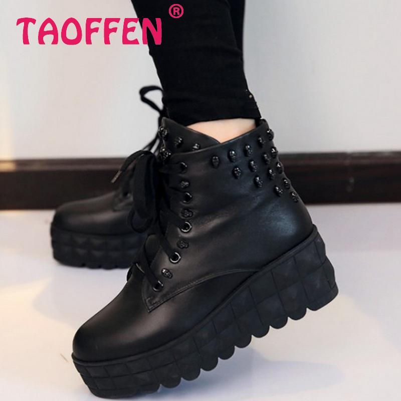 CooLcept Free shipping ankle wedge short boots women snow fashion winter warm boot footwear P15481 EUR size 34-39<br><br>Aliexpress