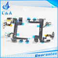 Brand New Replacement Parts Power ON Off Volume Control Flex Cable for iPhone 5S One Piece