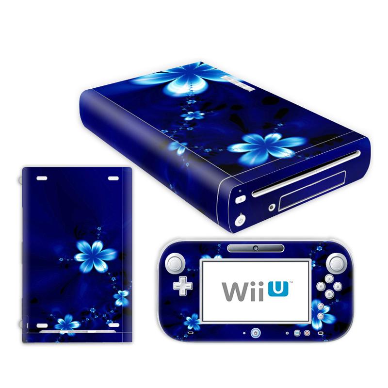 0071 # Cool Skin Vinyl Decal Sticker Protector For Nintendo WiiU Console TN-WiiU-0071(China (Mainland))