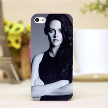 pz0006-3-6-1 Kristen Stewart Design Customized cellphone cases For iphone 4 5 5c 5s 6 6plus Hard Lucency Skin Shell Case Cover
