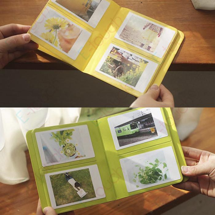 Portable Fujifilm Instax Mini 8 Photo Album (64 slots) Pieces of Monet Multi-Color 3 inch Mini Vintage Instax Album, ET688(China (Mainland))
