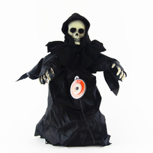 Song strange toys tricky toys light sensing Ghost Halloween toys bounce(China (Mainland))