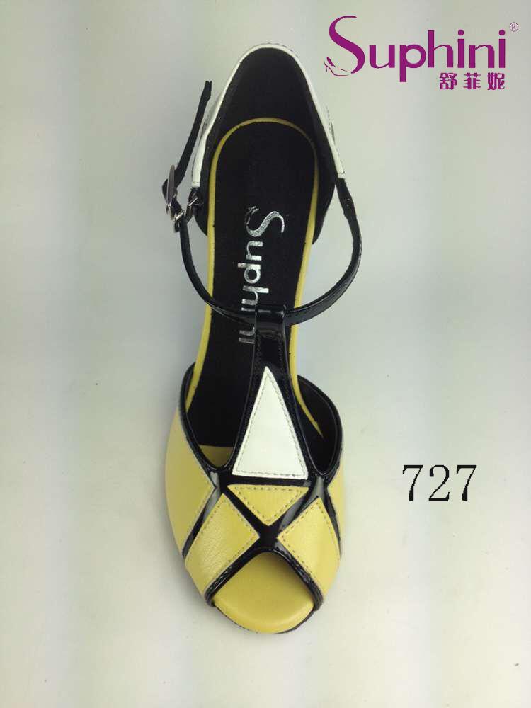 Free Shipping Suphini Woman High Heel Tango Shoes, 3.5 inch Thin Heel Tango Dance Shoes<br><br>Aliexpress