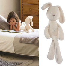 2017 Cute Baby Soft Plush Toys Brinquedos Plush Rabbit Bunny Sleeping Mate Stuffed & Plush Animals(China (Mainland))