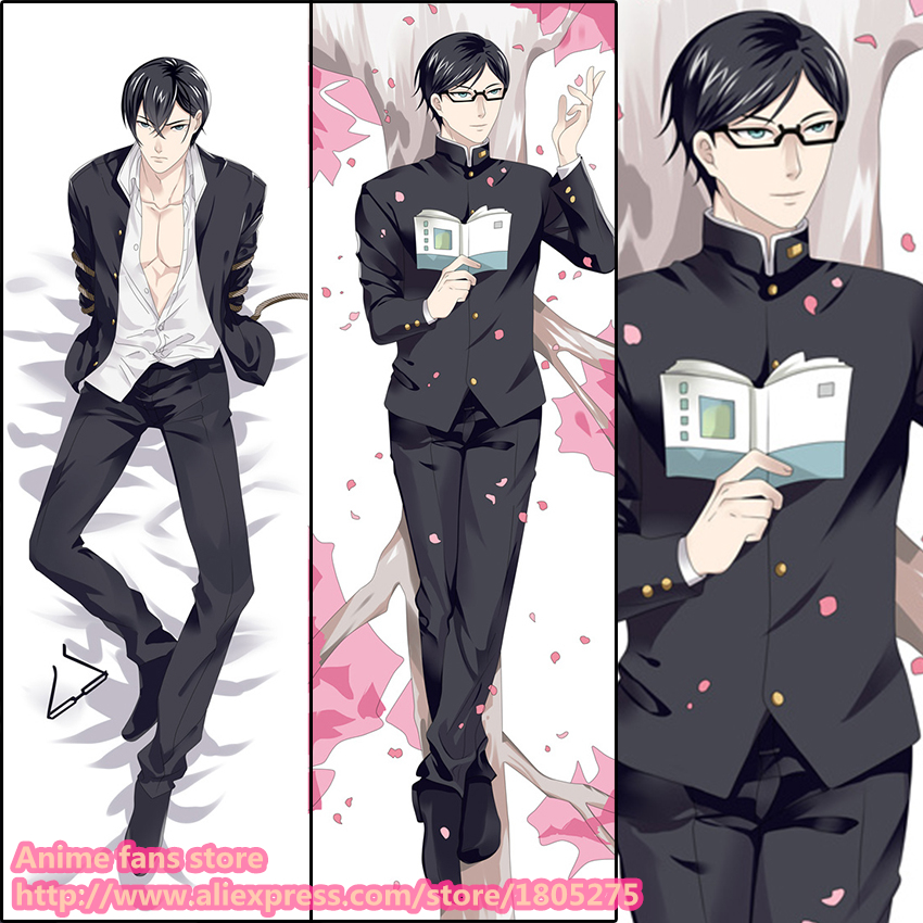 Anime Sakamoto desu ga Japanese Pillowcase Pillow Case Cover decorative Hugging Body Bedding  -  fans store store