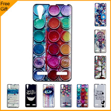 Luxury Colourful 3D Cartoon Pattern Cell Phone Case Cover For Lenovo K3 K30-w K30-t Lemon Case Hard Shell Back Covers With Gift