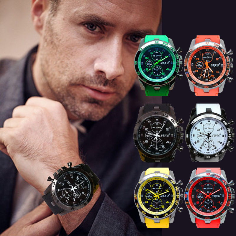2016 watches Men Stainless Steel Luxury Sport Analog Quartz Modern Men Fashion Wrist Watch relogio masculino Free Shipping Hot