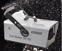 high quality 1500w snow machine snow making machine for wedding(China (Mainland))