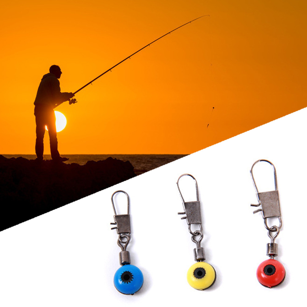 20pcs/lot Fishing lure Rolling Swivel with Nice Snap stainless steel fishing Hook Connector Link(China (Mainland))