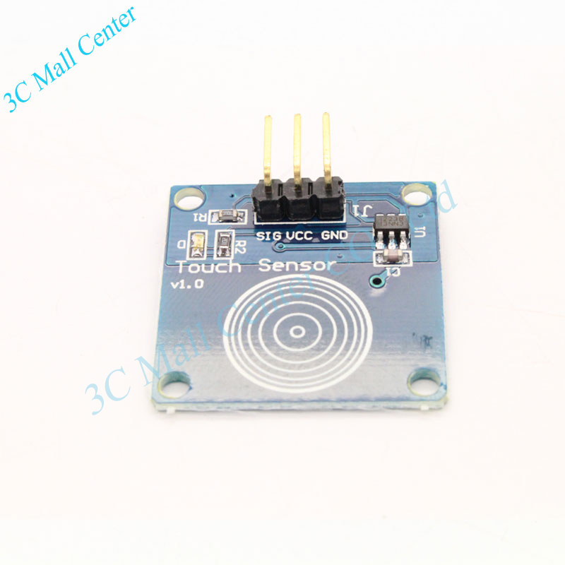W110 Hot Sale TTP223B Digital Touch Sensor Capacitive Touch Switch Module DIY For Arduino Wholesale(China (Mainland))