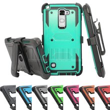 Buy Rugged Impact Heavy Duty Anti-Shock Future Armor Protective Case Cover+Holster Belt Clip LG Stylo/Stylus 2 LS775 for $5.70 in AliExpress store