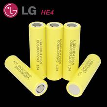 new LG DBHE41865 2500mah lithium battery 18650 3.7v power electronic cigarette batteries 20a exhaust HE4 free shopping - Shenzhen Yin Qian Electronic Technology Co., Ltd. store