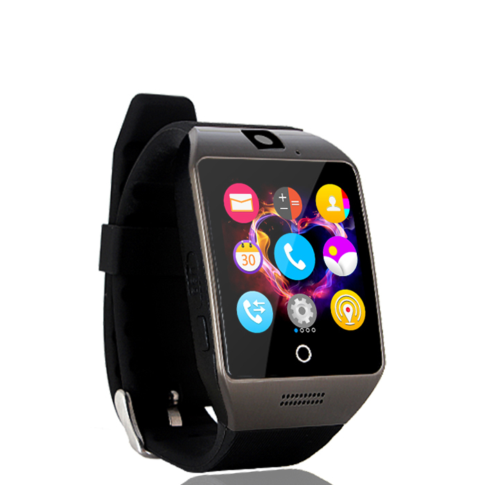 2016 Smart watch Apro Q18s Support Bluetooth NFC SIM GSM Video camera Support Android/IOS cell phone PK GT08 GV18 U8(China (Mainland))