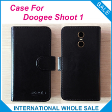 Buy Hot!! 2017 Shoot 1 Doogee Case, 6 Colors High Original Leather Exclusive Cover Phone Bag Tracking for $4.59 in AliExpress store