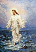 Jesus Walking On Water Tattoo Jesus Walking on Water