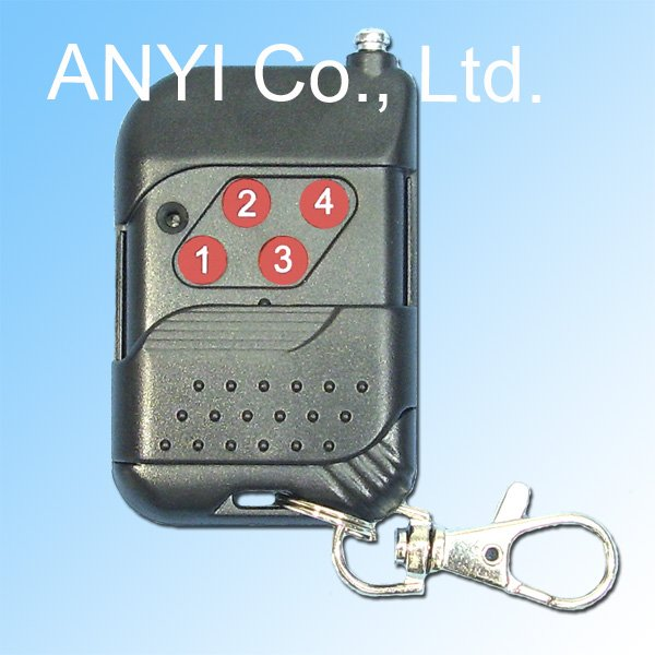 4 Channel 315 or 433MHz 2 Button RF Wireless Remote Control/ Radio Controller/ Transmitter(China (Mainland))