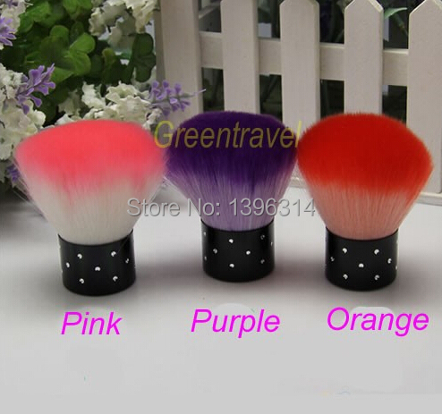 FREE SHIPPING 3 pc Professional Beauty Nail Brush Acrylic & UV Gel Nail Art Dust Cleaner NEW(China (Mainland))