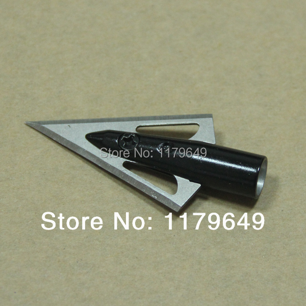 Free shipping 36 Pcs aftershock hunting arrow head broadheads 100GR 2 blades New Arrival Beast Shooting
