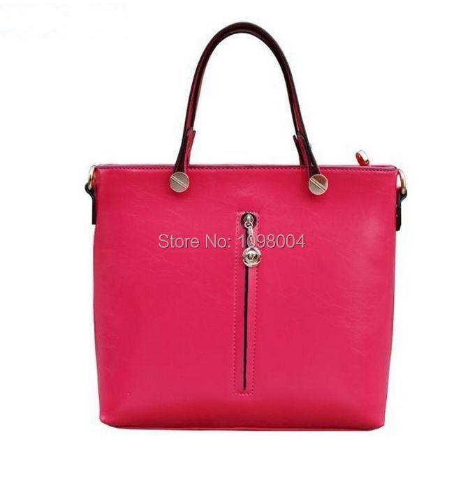 Здесь можно купить  HOT! 2014 vintage brand designer women pu leather handbag totes high quality solid color shoulder bag freeship  Камера и Сумки