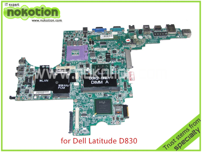 DA0JM7MB8E0 REV E PWB DY483 For dell Latitude D830 laptop motherboard CN-0MY199 MY199 965gm ddr2<br><br>Aliexpress