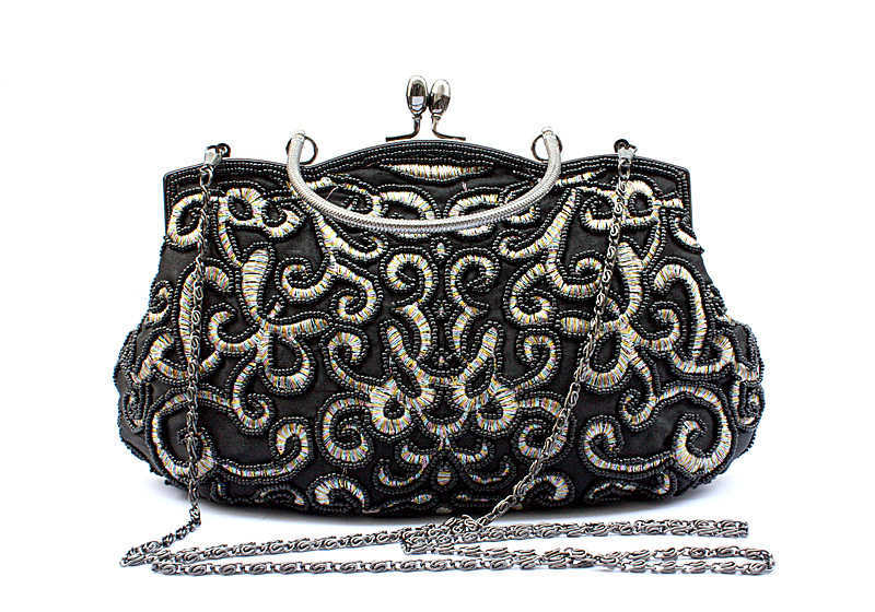 2015 vintage handmade beaded bag eve