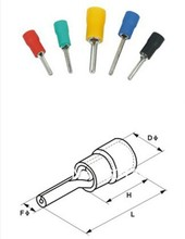 Factory direct> Automotive Electrical / connector / terminal/ Male connector/insulated pin terminals/PTV 1.25-9/5.5-18(China (Mainland))