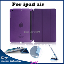 Free Shipping New 2015 For iPad Air Case Ultra Slim Stand Tablet Leather Case For iPad 5 ipad air Case Cover