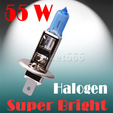 2pcs HID headlamps halogen h1 55w 6000k bulb white car light lamp cars fog light lens led headlight  car styling 12v(China (Mainland))