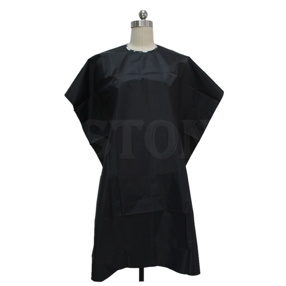 Adult Salon Hair Cut Hairdressing Barbers Hairdresser Cape Gown Waterproof Cloth Free Shipping(China (Mainland))