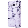 Stylish Marble Phone Case Hard PC Cover for Samsung Galaxy J1 2015 4 3 J1 Mini