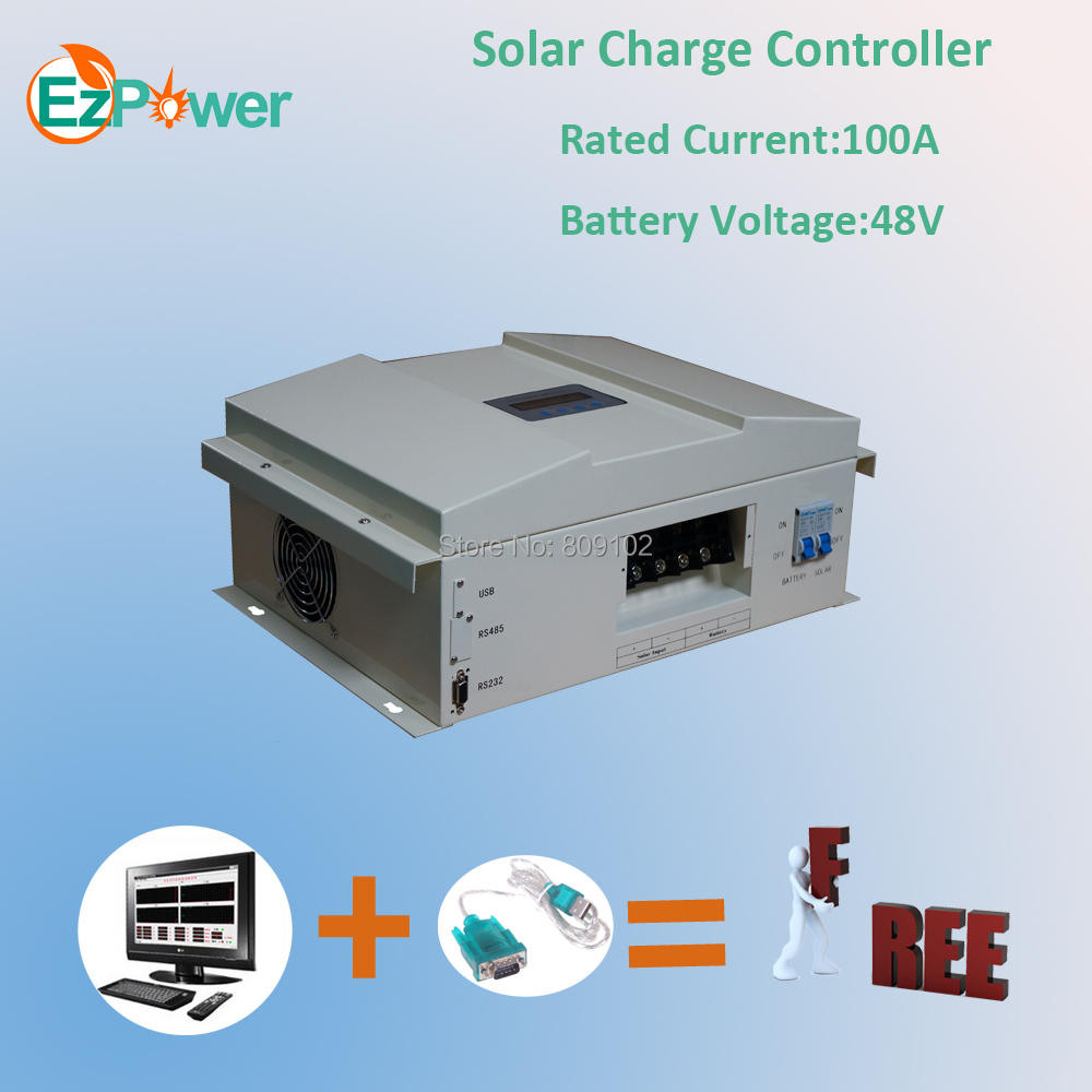 100A 48V PWM solar charge controller, 5KW solar controller(China (Mainland))