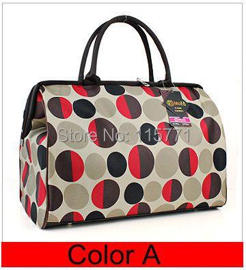 2014 hot woman's All-match portable travel bag luggage yoga bag light waterproof folding tote bag cheap online free shipping(China (Mainland))