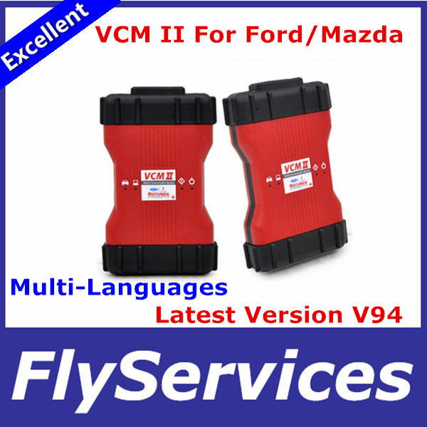 2015 Professional VCM II Diagnostic Rotunda Interface VCM2 IDS V94 Code Reader VCM 2 Super Performance(China (Mainland))