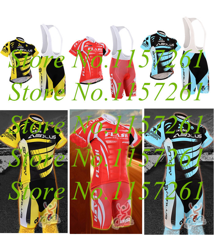 Breaking wind Sleeve Cycling Jersey (Bib) Shorts Set,Bike Cycle Bicycle Wear Clothing Skinsuit Clothes Maillot Ropa Ciclismo(China (Mainland))