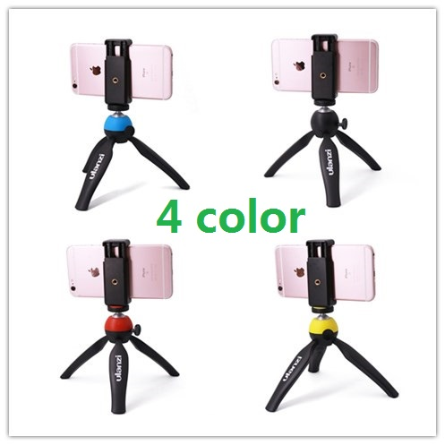 Ulanzi Mini Table Tripod with Horizontally Vertically Mount Holder Adapter for iPhone Andriod Smartphone for Youtube Live(China (Mainland))