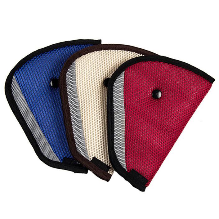 Attractive Car Child Safety Cover Shoulder Seat belt holder Adjuster Resistant Protect May 6