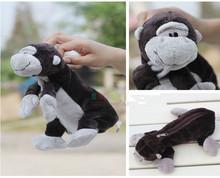 Super cute 1pc 25cm nici naughty friend orangutan plush school little bag toy children gift