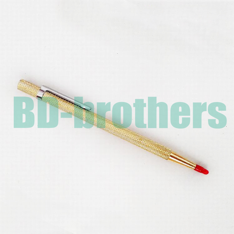 Gold Color Diamond Glass Pen Cutter Lettering Carbide Tipped Scriber for Phone Tablet PC Glass Screen Cutting 100pcs/lot<br><br>Aliexpress