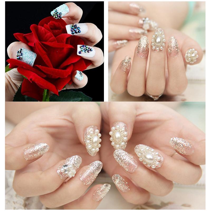 5pcs2016 DIY Nail Design Rhinestones For Nails Accessoires Acrylic Nail Art Decorations For UV Gel Nail Art Wheel Manicure Tools(China (Mainland))