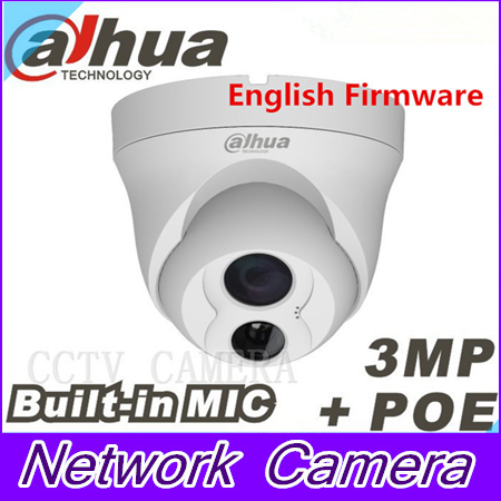 Dahua IPC-HDW4300C Built-in MIC IR HD 1080p IP Camera 3MP Full Network IR security cctv Dome Camera Support POE<br><br>Aliexpress