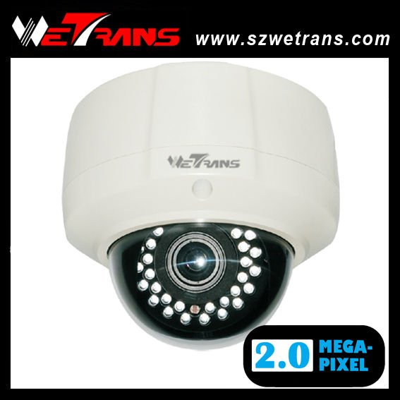 TR-JIPD126-POE 2.8-12mm Varifocal Lens Vandalproof IR Dome Security IP-Camera<br><br>Aliexpress