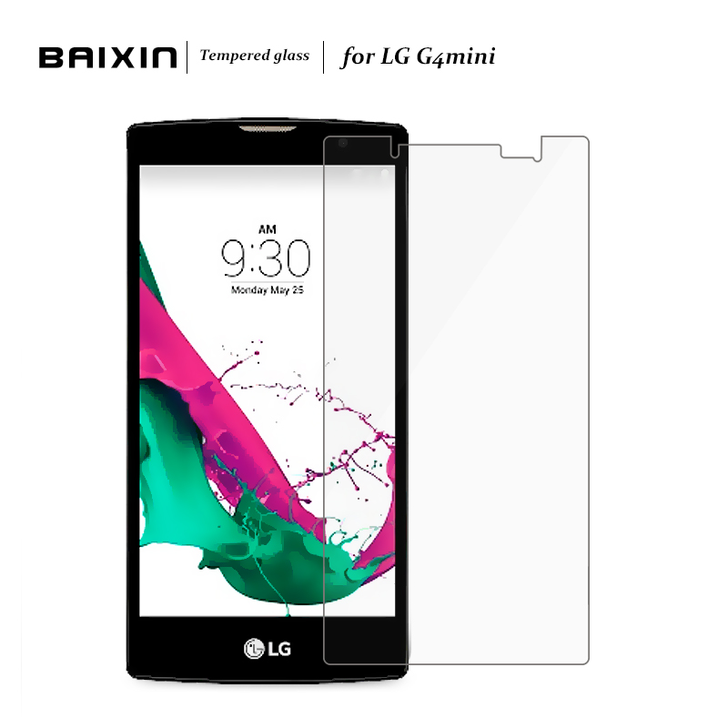 for LG G4C G4 mini 2.5D Tempered Glass Film for LG magna H502 G4C H525N G4mini Screen Protector for LG G4C H520N H522Y Clean kit(China (Mainland))